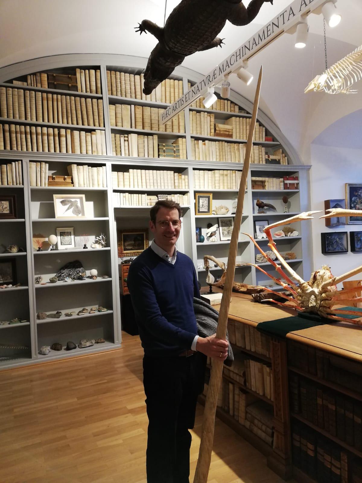 Dr. Markus Wennerhold mit Einhorn